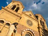 THE CATHEDRAL BASILICA�OF ST. FRANCIS OF ASSISI,Santa Fe, New Mexico