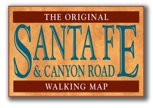 Santa Fe Walking Map Logo