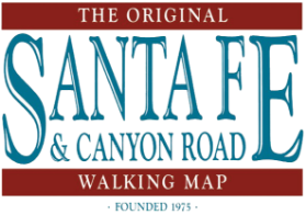 Santa Fe Walking Map